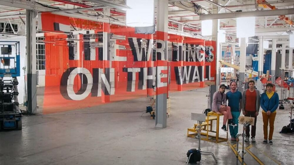 MTV VMA winner 2014 OK Go - The Writing's on the Wall preview picture