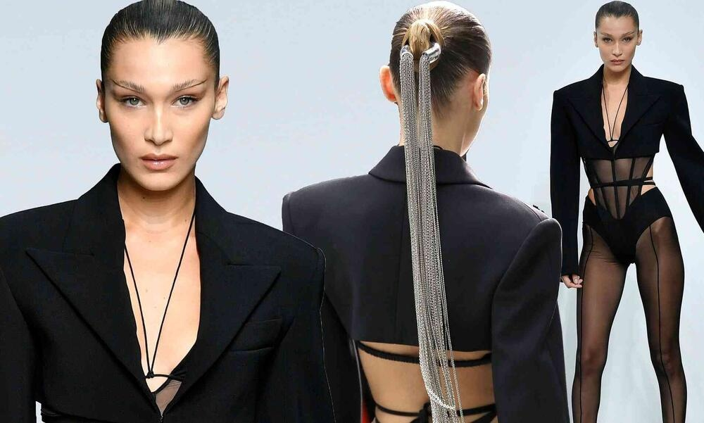 Visuals for Muglers collection SS21 with Bella Hadid